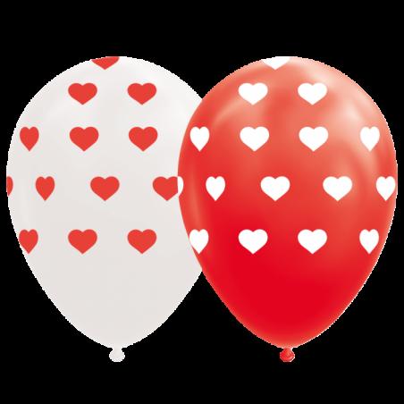 """Hjerte balloner 12"""" - 775"""