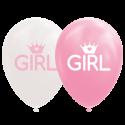 """Girl balloner 12"""" Baby"""