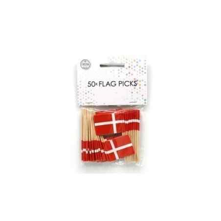 50 små flag - Danmark - 876