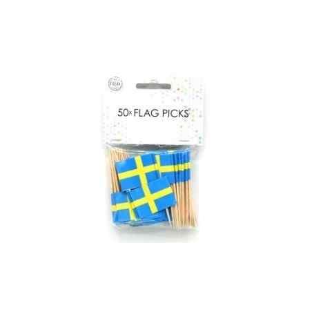 50 små flag - Sverige - 877