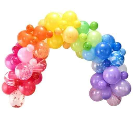 Regnbue Ballonbue Ballon Buer