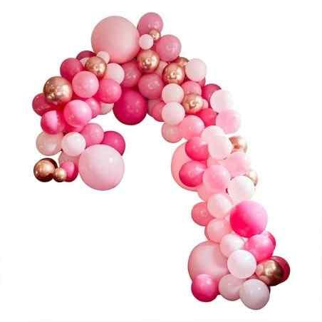 Stor Luksus Ballonbue - Pink - 898