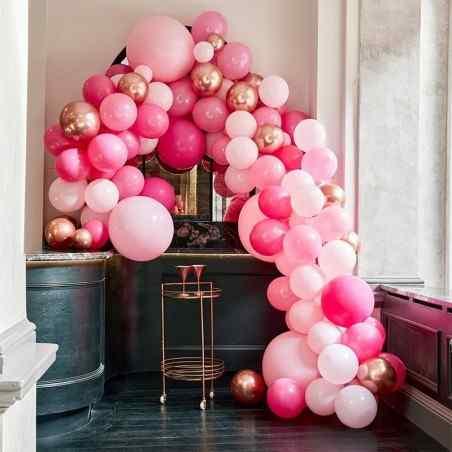 Stor Luksus Ballonbue - Pink - 899