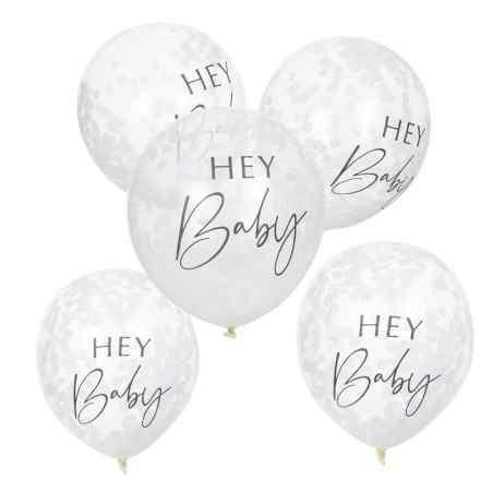 Hey Baby - Konfetti Balloner - 902