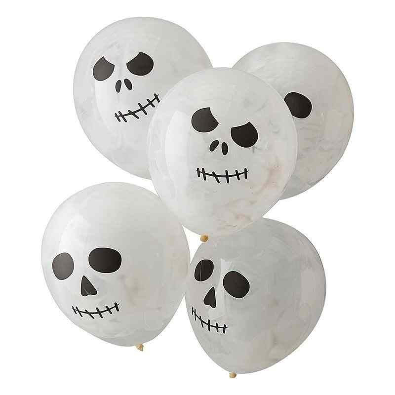 Balloner med Kranie print