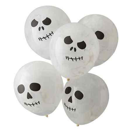 Balloner med Kranie print - 908