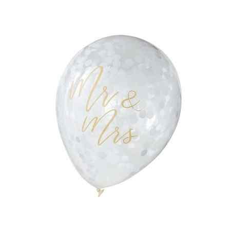 Mr & Mrs Balloner - Guld - 916