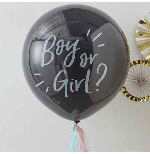 Boy or Girl??? Ballon Baby