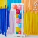 Ballonkasse - 0 til 5 - Tilsæt balloner efter eget valg Folie Tal Balloner