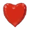 Kæmpe Hjerte folieballon Rød 92 cm Hjerte Balloner