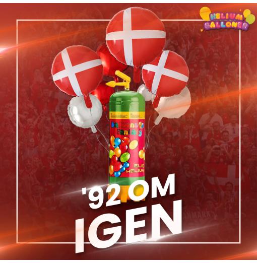 Danmark vinder i år Heliumballoner.dk