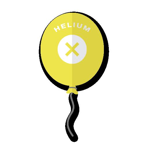 100% Helium