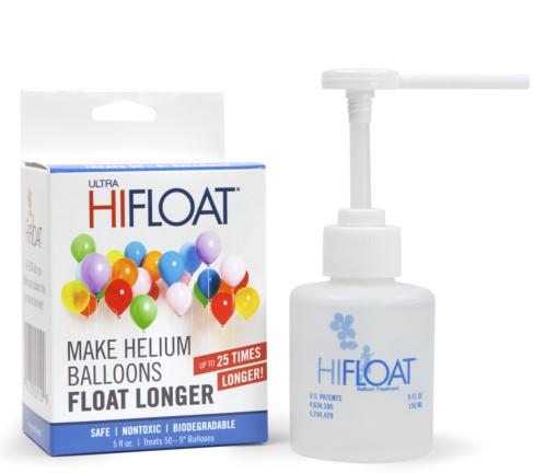Hi float til heliumballoner